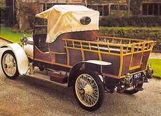 This stylish 1913 Napier 16hp shooting brake Woodie Pickup !