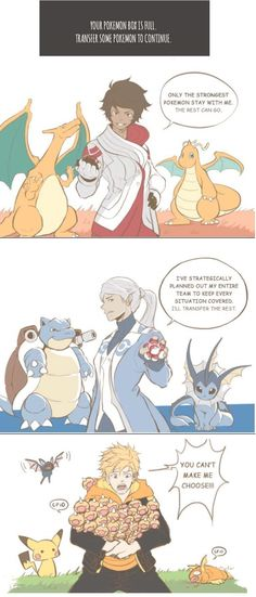 Team Leaders strategy on transferring Pokemon