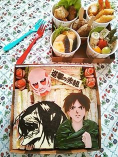 Attack on Titan bento