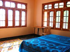 Guest room at our ashram in Kullu Valley