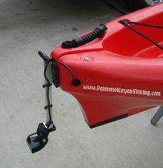 Palmetto Kayak Fishing: DIY Kayak Fish Finder Install - 2012 Wilderness Systems Ride 135