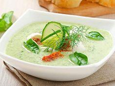 Diese Suppe ist gesund, schnell gemacht und schmeckt sowohl warm als auch kalt.