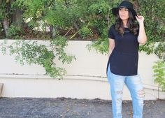Lightweight blouse from Kmart Attitude Collection, Fall Fashion 2015 style, Adriana Michelle, Latina, blogger