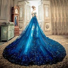 10 beautiful blue wedding dresses that can be transformed into a princess . 10 beautiful blue wedding dresses that can be turned into a princess let Quinceanera Dresses, Prom Dresses, Formal Dresses, Bridesmaid Gowns, Junior Dresses, Sexy Dresses, Fashion Dresses, Blue Wedding Dresses, Wedding Gowns