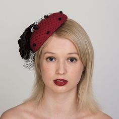 Buy designer UK made fascinators, fascinator hats and hatinators in colours to suit all outfits. How To Make Fascinators, Wedding Fascinators, Red Fascinator, Felt Hat, Color Swatches, Shades Of Red, Free Coloring, Mother Of The Bride, Groom