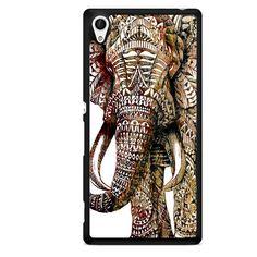 Real Elephant Aztec TATUM-9176 Sony Phonecase Cover For Xperia Z1, Xperia Z2, Xperia Z3, Xperia Z4, Xperia Z5