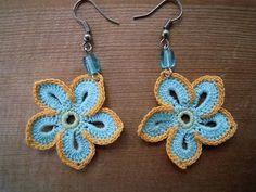 crochet earrings patterns free | Crochet Earrings | free crochet pattern
