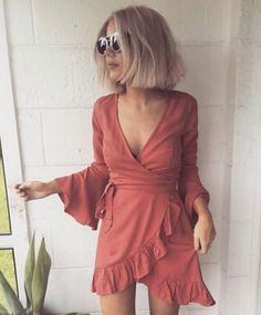 Look whose back!! Our Sasha wrap dress $64.95 Looking fab on @laurajadestone xx
