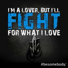 I'm a lover, but I'll fight for what I love. #besomebody. ♥ what's right, do what's right, and all else will fall in the right places.