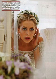 Peaches Geldof in Alberta Ferretti special wedding dress. > Rest In Peace beautiful Beautiful Bride, Beautiful Dresses, Beautiful People, Pixie Geldof, Bob Geldof, Peaches Geldof, Dream Wedding Dresses, Celebrity Weddings, Perfect Wedding