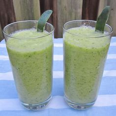 Green Smoothies to Lose Weight - Lean Green Smoothie - Click Pic for 42 Healthy Fruit Smoothie Recipes