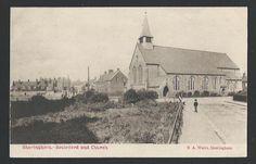SHERINGHAM. Boulevard & Church. Vintage postcard