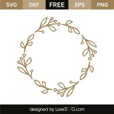 *** FREE SVG CUT FILE for Cricut, Silhouette and more *** Monogram frame