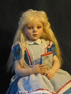 Jane Bradbury Collectible Dolls, Alice in Wonderland
