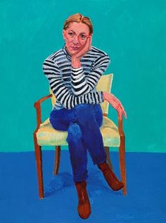 David Hockney shines the spotlight on the curator of his Royal Academy show | Art and design | The Guardian