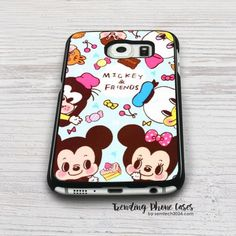 Mickey And Friends Samsung Galaxy S6 Case Cover for S6 Edge S5 S4 Case