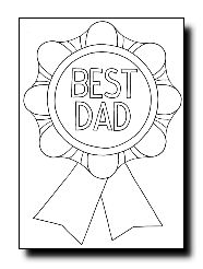 Free Toddler Coloring Pages Fathers Day