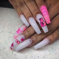 900 baddie nails ideas in 2021  nails cute nails nail