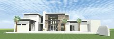 ePlans Contemporary-Modern House Plan – Bold Contemporary With Stunning Pool Area – 3885 Square Feet and 4 Bedrooms from ePlans – House Plan Code HWEPL76753
