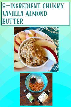 Vegan Gluten Free, Gluten Free Recipes, My Recipes, Vegan Vegetarian, Nut Butter, Almond Butter, Sweet And Salty, A Food, Food Processor Recipes