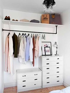 7 Ideas to transform a spare room into a closet (Daily Dream Decor) Too many clothes and not enough space in your bedroom? Well, it' time to think about a spare room. A pantry, a hallway, or another extra bedroom can.
