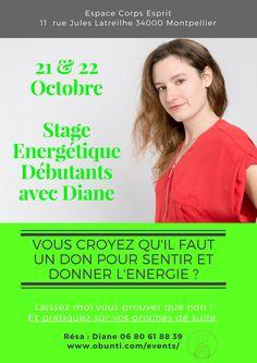 Stage Initiation aux Soins Energétiques avec Diane Taes – Diane TAES