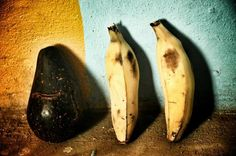 Fruits on the wall