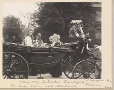 Photograph of the May Queen and attendants in carriage, Knutsford, Cheshire, by Benjamin Stone, Museum Number Cheshire England, May Days, Old Photography, Historical Photos, Folklore, Old Photos, The Past, Queen, History