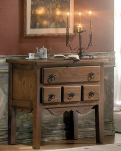 Country Style Furniture, Rustic Furniture, Solid Oak, Country Cottages, Drawers, Apartments