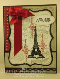 Artistic Etchings and French Foliage by stampwithsandy - Cards and Paper Crafts at Splitcoaststampers