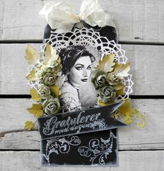 Gratulerer med dagen - Pia Baunsgaard - Stempelglede :: Design Team Blog Shabby Vintage, Stamp, Halloween, Projects, Cards, Blog, Inspiration, January, Design