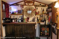 charlies bar is an entrant for Shed of the year 2012 via Keg Table, Shed Of The Year, Bar Shed, Pub Sheds, Home Pub, Bar Games, Backyard Bar, Game Room Design, Ranch House Plans