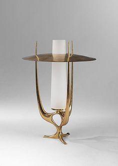 Max Ingrand, Table Lamp, c.1960.....http://www.pinterest.com/javierchavira/modernist-design/