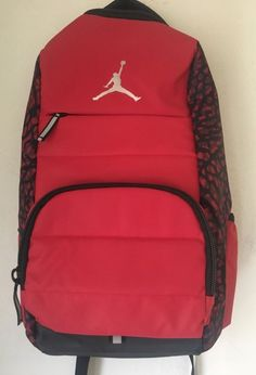 cefe67a54f74d0 Nike Air Jordan All World Elephant Print Backpack Gym Unisex School Travel  NEW  Nike