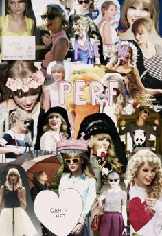 Taylor Swift collages