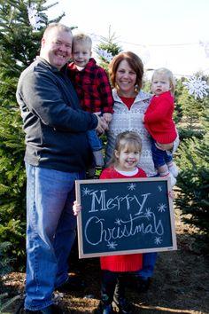 Merry Christmas  Tree Farm  Family Love