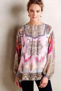 Felicie Peasant Top #kasnewyork #sweet #fashion #Felicie #Top #wonderful #dreamy #beautiful