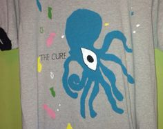 The Cure 1985 concert t-shirt