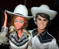Western Barbie and Ken