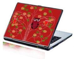 Christmas Owl laptop skin, kaboodle.com