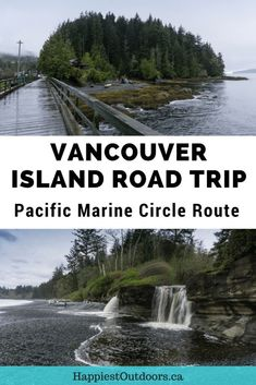 Your guide to the Pacific Marine Circle route road trip on Vancouver Island in Canada. Visit big trees, wild beaches, tiny towns and tons of hiking. Montreal, Vancouver Island, Places To Travel, Places To See, Travel Destinations, Voyage Canada, Toronto, Canadian Travel, Road Trip Hacks