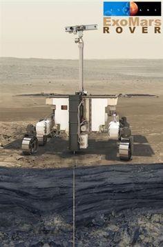 Το rover της αποστολής ExoMars θα κινείται με ένα επαναστατικό σύστημα και θα προσπαθήσει να τρυπήσει το εδαφος σε βάθος δύο μέτρων για να συλλέξει δείγματα