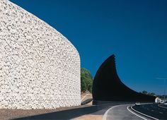 Freeway Noise wall - Eastlink Freeway Extension - Melbourne - Wood Marsh Architects