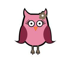 Simply Dee-lighticle: Free Cutie Owl SVG