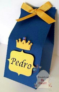 Cute favour bags for your little prince party theme. Prince Birthday Party, Baby Boy 1st Birthday, Mickey Birthday, First Birthday Parties, Birthday Party Themes, First Birthdays, Little Prince Party, Birthday Photo Banner, Royal Baby Showers