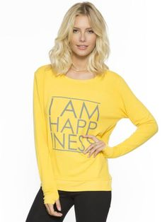 I AM HAPPINESS GOLDFISH OVERSIZED COMFY TOP