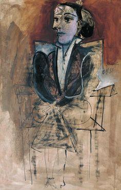 Pablo Picasso – Dora Maar Seated, 1938