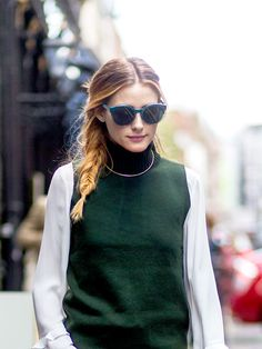 The #1 Pant Style You Need to Dress Like Olivia Palermo via @WhoWhatWear