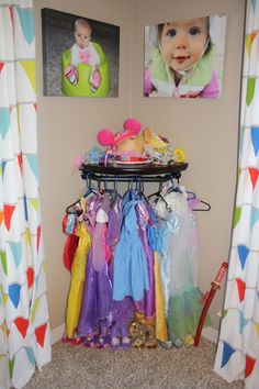 Dress up station - another option