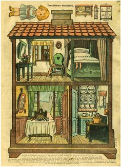 The Paper Collector: A Dolly Dingle Dollhouse, ca.1920s